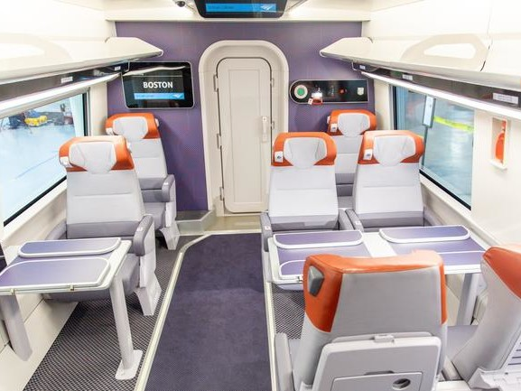 Amtrak UnveilsFuturistic High-Speed Trains Coming In 2021