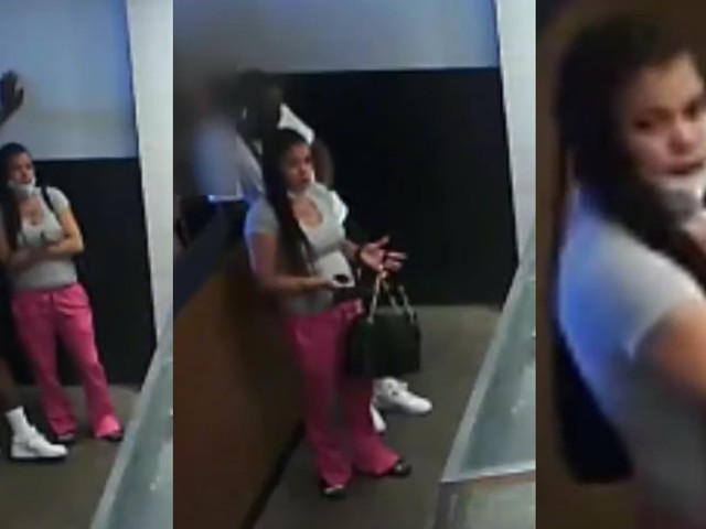 'Give me my food': Woman pulls gun on Chipotle worker in video