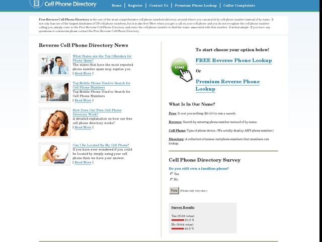 Free Reverse Cell Phone Directory. Trace Cell Phone Numbers Free.
