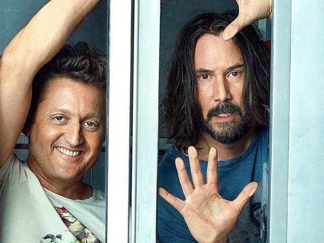 Bill & Ted are embarking on a third excellent adventure next year