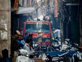 Devastating market fire kills at least 43 in Indian capital