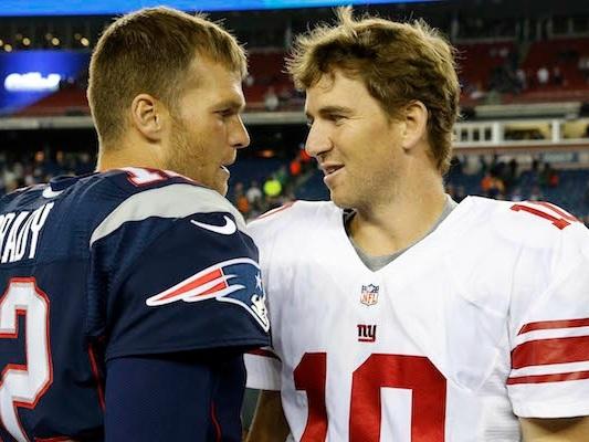 """Don't Hit it in the Lumberyard"" -Eli Manning Roasts Tom Brady Ahead of 'The Match'"