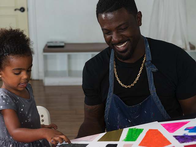 A Day in the Life of Lance Gross & Daughter Berkeley   Dad's on the Move
