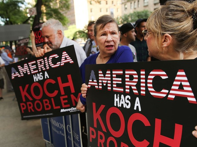 Trump's rise has pushed the Koch brothers out of Republican favor — but their political grip is still as powerful as ever