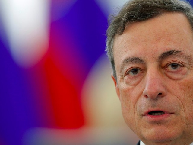 Draghi says ECB could still cut rates despite the bank effectively saying the opposite