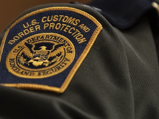 Two US border officials are disarmed by 'five or six Mexican soldiers' on American soil