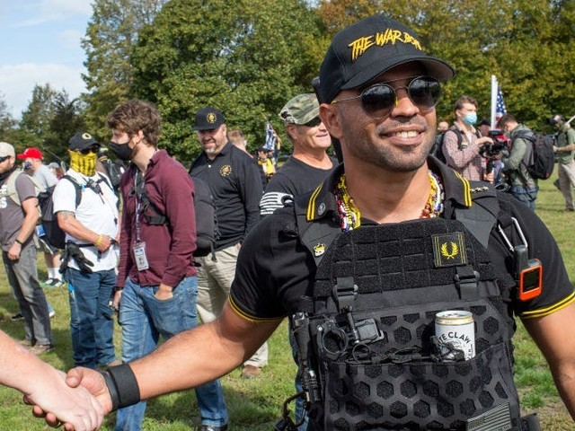 Proud Boys leader arrested in Washington, DC, on charges of destruction of property
