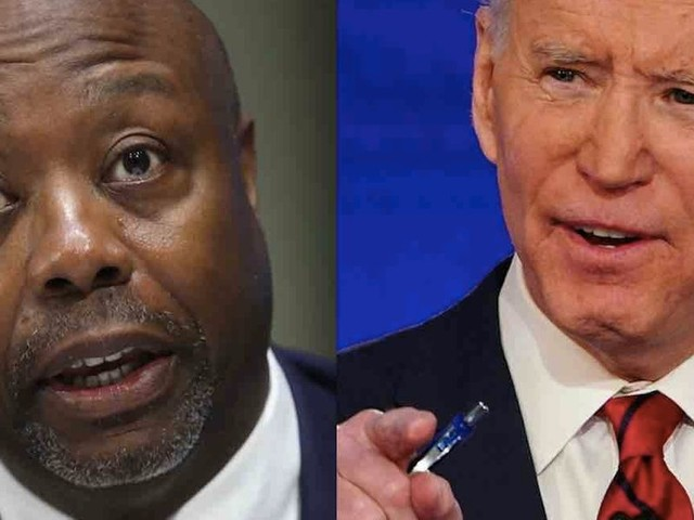 Tim Scott: Biden's 'you ain't black' comment typical of Democrats who take blacks 'for granted' and intimidate those who 'don't agree'