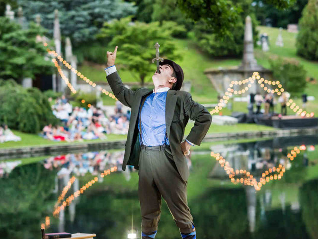 Dead center: Green-Wood Cemetery has all the action this summer!