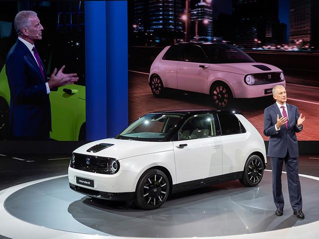 Honda Opens Frankfurt 2019 Site