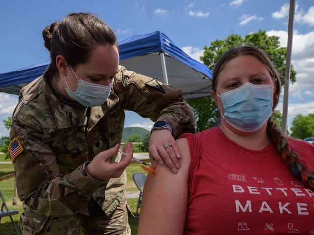 The US, UK, and Israel have all fallen far behind in the global vaccination race -the US now ranks 39th