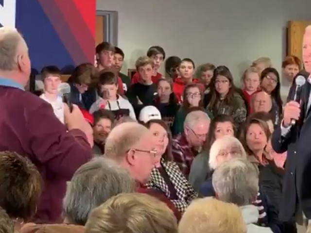 Joe Biden snaps on Iowa voter who brings up Hunter and Burisma: 'You're a damn liar, man'