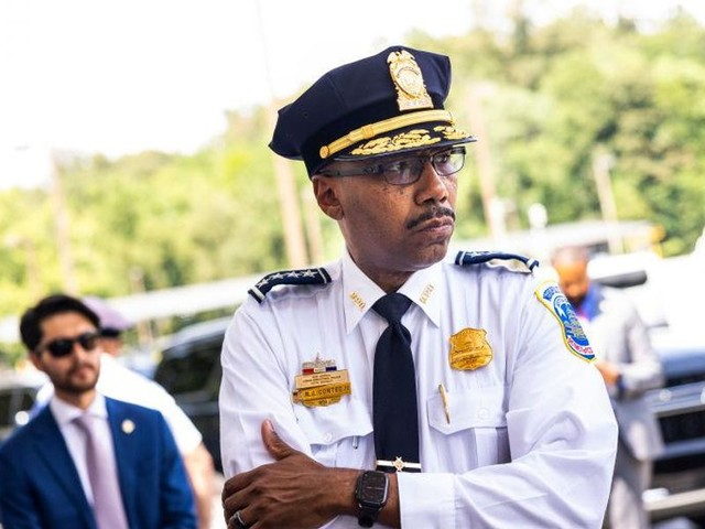 'Outraged' D.C. police chief calls on residents to reclaim city from violent criminals