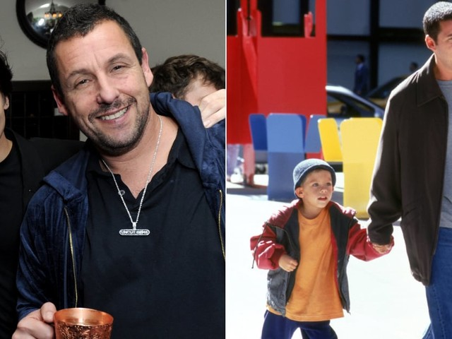Cole Sprouse and Adam Sandler Had a Sweet Father-Son Reunion 21 Years After Big Daddy