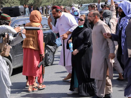 Taliban Changes Ministry Of Women's Affairs To Islamic 'Morality Police'