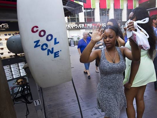 Mercury about to hit 100 for first time this year in Las Vegas