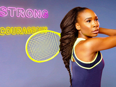 Venus Williams Reveals How She Stays Positive As She Launches Sportswear Line