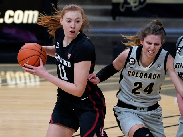 Top-ranked Stanford women lose first game