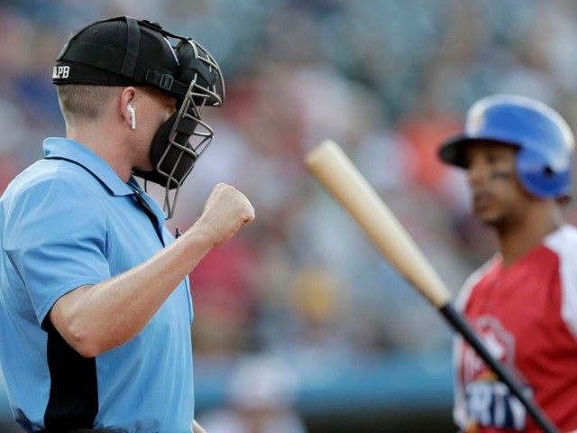 Major League Baseball will test robo umps during spring training games