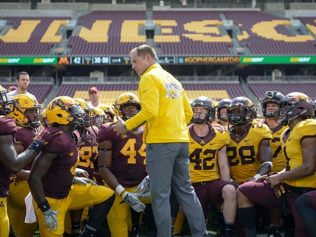What's the P.J. Fleck effect on Gophers bank accounts? Not much, at least not yet