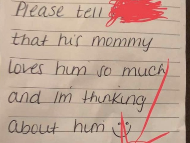Day care worker leaves a nasty note in 5-year-old's lunchbox: 'I am in absolute shock'