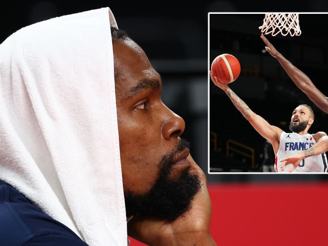 'A hell of a win': Massive Olympics shock as France hand USA first loss in 17 years, ending 25-match run of men's basketball wins