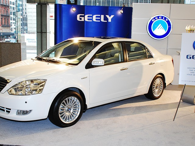 Geely Had Eyes For BMW Before Buying Daimler Stock