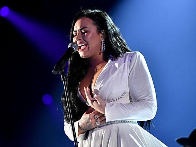 Dallas Native Demi Lovato Takes Emotional Performance To Grammy Stage