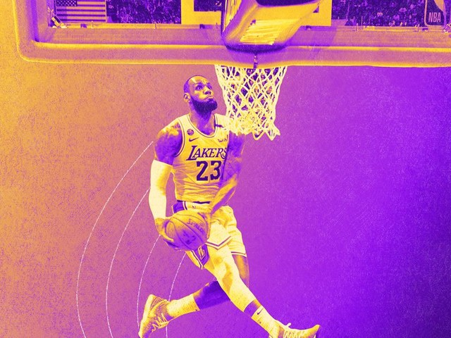 Defining Moments of the NBA Season: One LeBron Dunk Becomes the Perfect Kobe Tribute