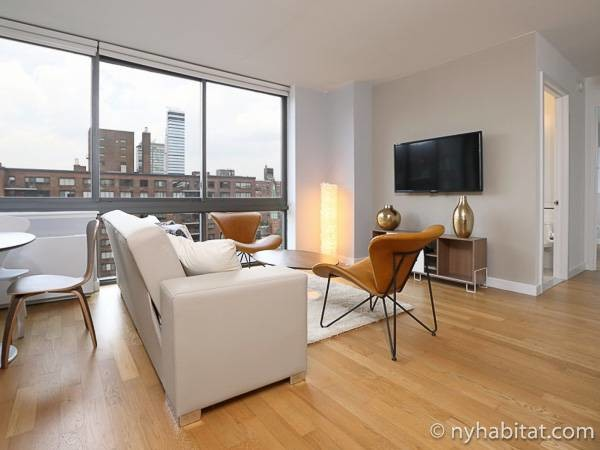 New York Apartment: 2 Bedroom Apartment Rental in Upper West Side (NY-17264)