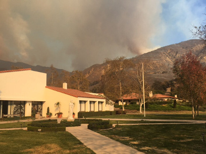 Fires affect California colleges' finals, move-out, homework deadlines