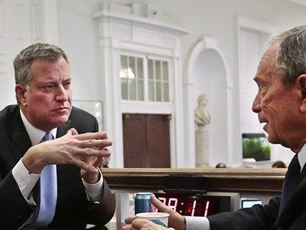Bill de Blasio Blasts Bloomberg: Democrats Should Not Nominate 'Billionaire Who Epitomizes the Status Quo'