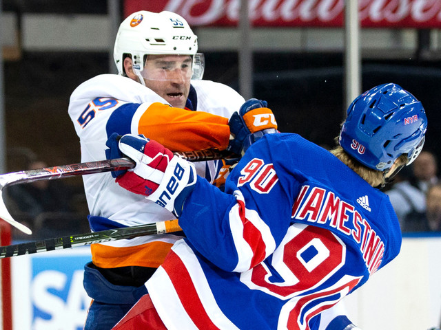 Rangers looking for split vs. Islanders after 'heartbreaking' loss