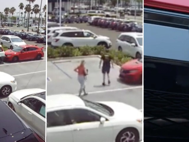 'Lady, that's going to be expensive': Viral TikTok shows Karen backing into man's new car, trying to deny responsibility