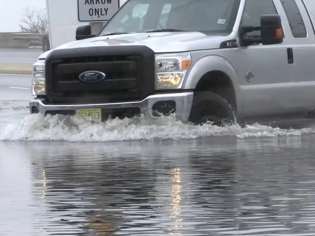 Storm brings beach erosion, street flooding to Jersey Shore