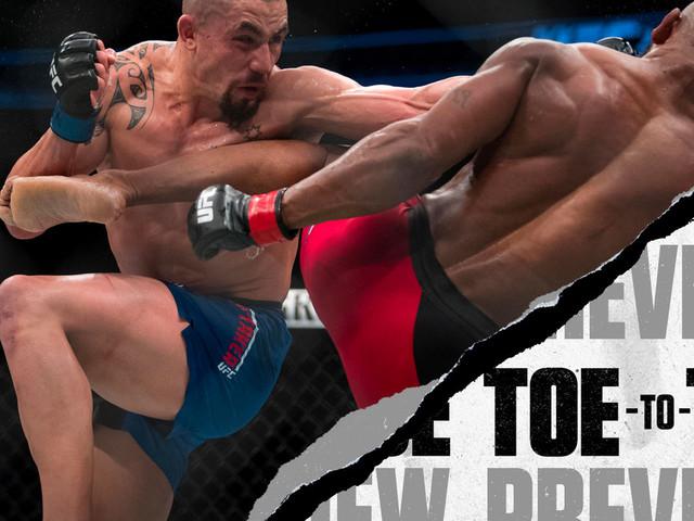 UFC 234: Robert Whittaker vs. Kelvin Gastelum Toe-to-Toe Preview