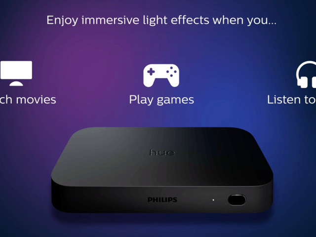 Philips Hue unveils new HDMI TV box that lets smart lights color match what you watch