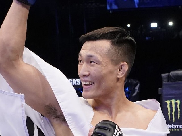 UFC Busan: Korean Zombie calls out Volkanovski following TKO of Frankie Edgar
