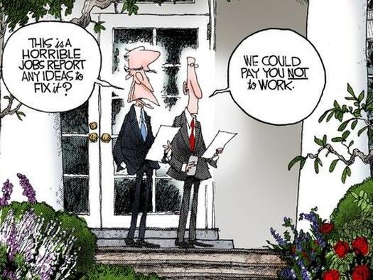 Biden's State-Sponsored Labor Shortage