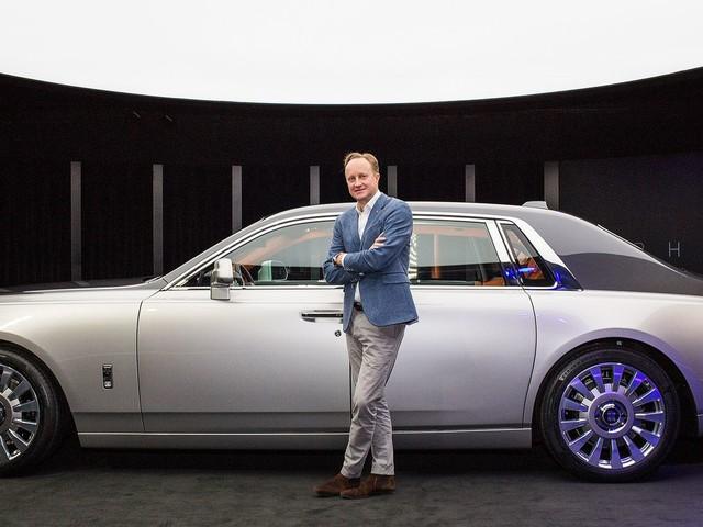 The Rolls-Royce Phantom design opens doors for an electric future