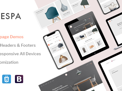 Vespa - Premium Prestashop Theme (Shopping)
