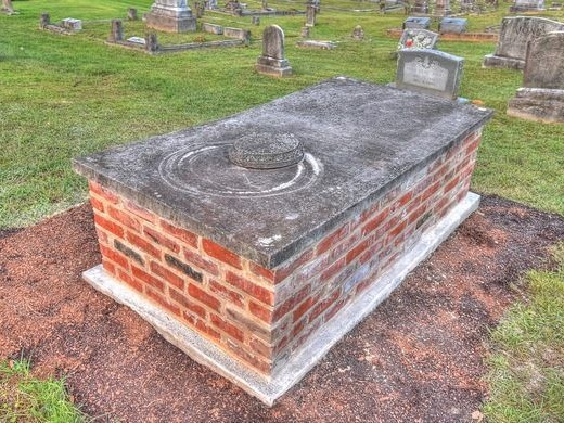 The Grave with a Sliding Window.