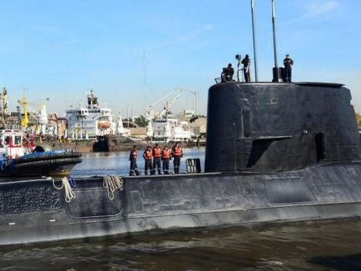 """Argentina Submarine With 44 On Board Found """"Imploded"""" 3,000 Feet Below Surface"""