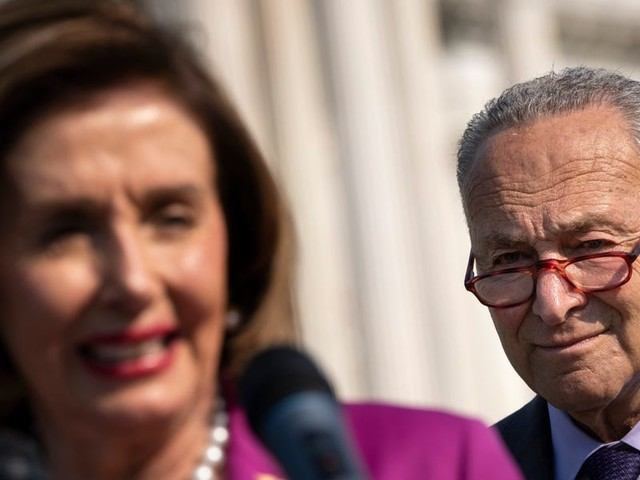 Pelosi says Biden doesn't have the power to cancel student loan debt, as Schumer pushes him to eliminate $50,000 per borrower