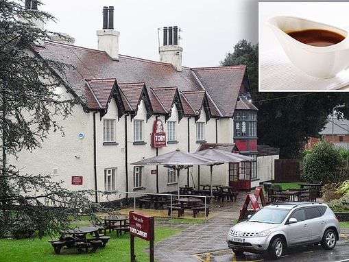 Woman, 35, is charged with assault after 'heated' fight over gravy