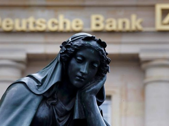 """Insane"" Deutsche Bank Drowning Under Soaring Funding Costs"