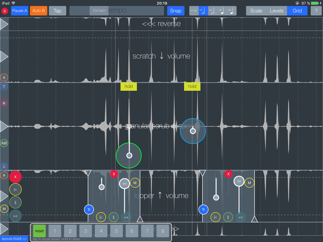If an experimental live sampler / looper / granular / FFT scrub effect is your kind of thing then check out soundfruuze