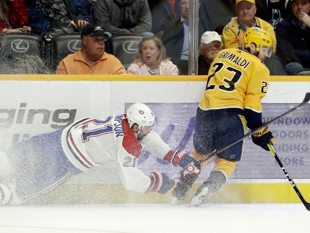 Rinne makes 34 saves, Predators beat Canadiens 3-1