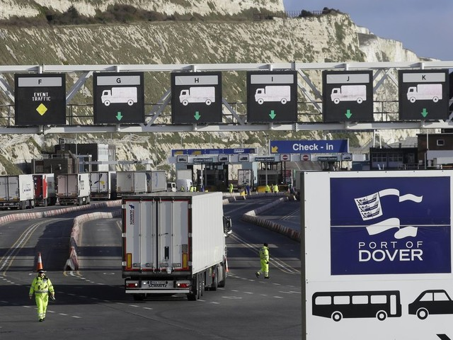 UK lifts post-Brexit permits for truckers as trade recovers