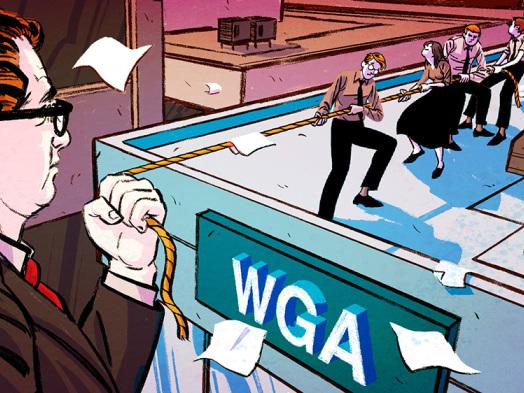 Hollywood Agents, Writers Guild Make Little Progress in Talks